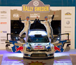 Volkswagen claims maiden victory in Rally Sweden