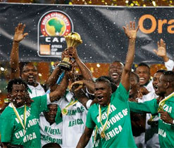 Nigeria dominates African Cup of Nations all-star team