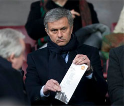 World waiting for Real Madrid-Man United clash: Jose Mourinho