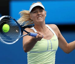 Maria Sharapova reaches 3rd round at Qatar Open
