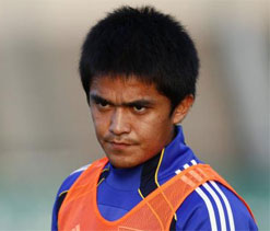 Churchill signs Sunil Chettri on loan from Lisbon