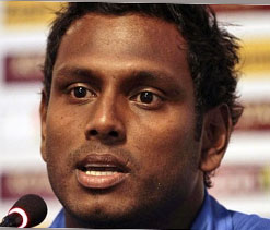 Mathews named Sri Lanka`s Test, ODI captain