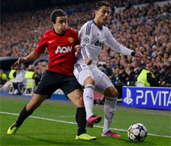Champions` League: Man United favourites after first leg draw in Madrid