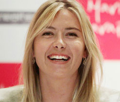 Maria Sharapova says life's too short not to have many lovers