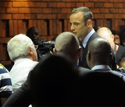 Oscar Pistorius issues statement; rejects murder charge in `strongest terms`