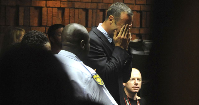 Charged with 'premeditated murder'; Pistorius issues 'strong' denial