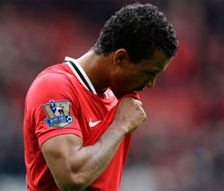 Manchester United star Nani`s Bentley crashes with unmarked car