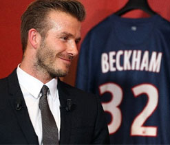 David Beckham not yet ready to play, says Ancelotti