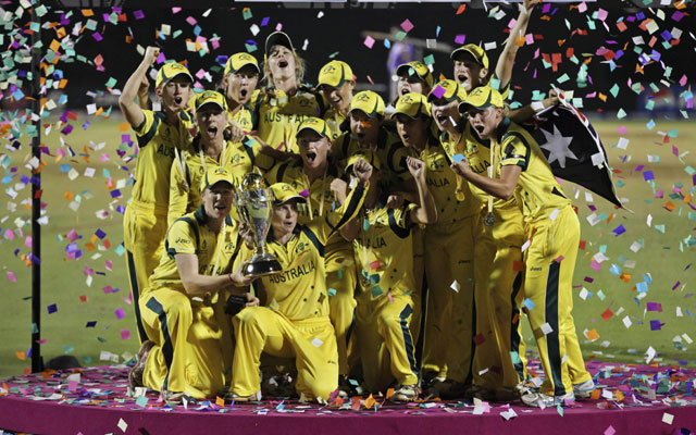 Australia clinch Women's World Cup for sixth time