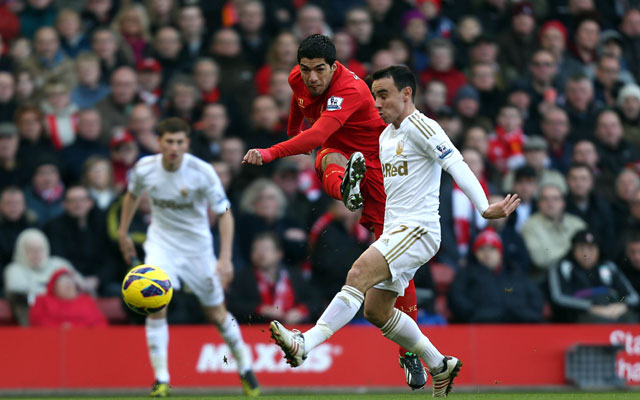 Liverpool maul Swansea City in EPL