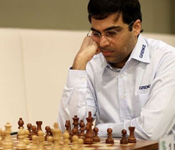 Viswanathan Anand jumps to joint lead in Grenke Chess Classic