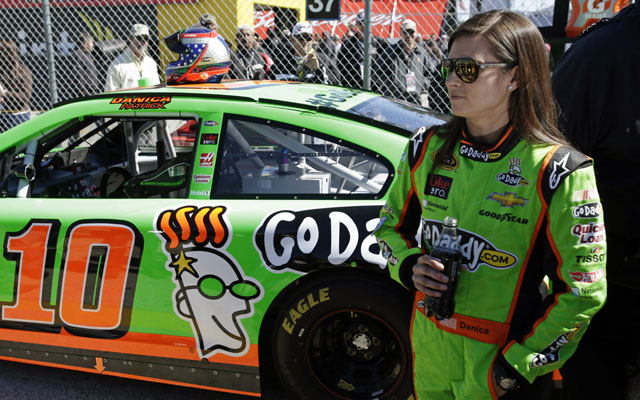 Danica Patrick becomes first woman to win Nascar Pole