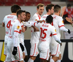 Stuttgart win, Hannover tie in German Bundesliga