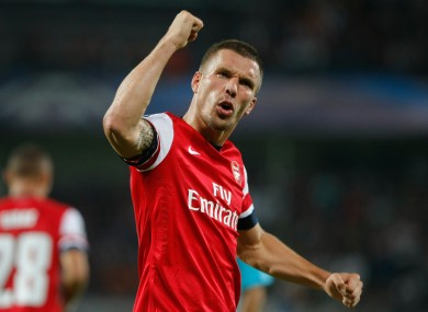 Arsenal can upset the odds against `favourites` Bayern: Podolski