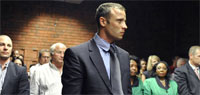 Sobbing Pistorius still denies murder; hearing adjourned until Wednesday