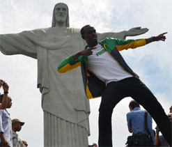 Usain Bolt to race on Copacabana beach