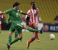 Europa League: holders Atletico bow out to Rubin Kazan
