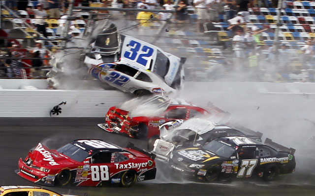 At least 28 fans injured in NASCAR crash
