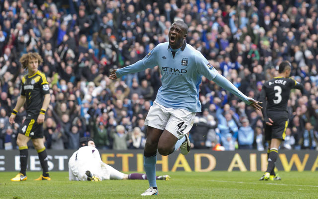 Toure & Tevez on target as Manchester City beat Chelsea