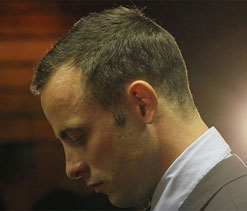 Pistorius` tweet `thanking fans for support` revealed to be fake