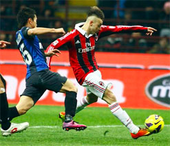 Honours even as Milan teams score one each