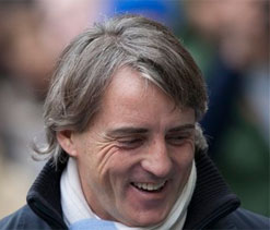 Mancini still hoping for Premier League title after win against Chelsea