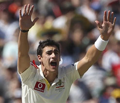 Mitchell Starc's footmarks - a blessing in disguise for India