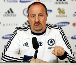 Benitez to leave Chelsea in May