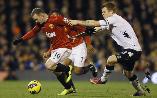 Wayne Rooney helps Manchester United to edge past Fulham