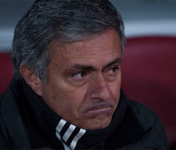 Jose Mourinho fumes after Granada defeat