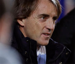 Mancini admits Manchester City might need to win every game to win EPL