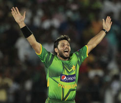 Afridi named captain of Pakistan A side against Afghanistan