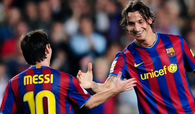 Messi is the best in the world: Ibrahimovic