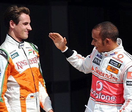 Force India`s Sutil still at loggerheads with Hamilton