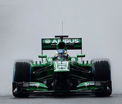 Caterham pick Rossi, Ma Qing Hua for reserve duty
