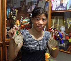 Mary Kom gets land promised by state govt for academy