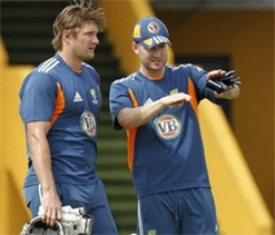 Aussies have extended practice session