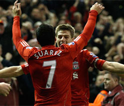 Gerrard spot on to complete Reds turnaround