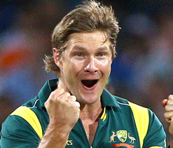 Shane Watson becomes a father