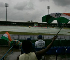 Mohali Test: First day`s play washed out