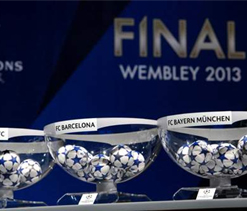 Champions League quarter-final draw: Barcelona vs PSG; Bayern vs Juventus