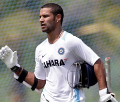 I had my moments of nervousness: Dhawan
