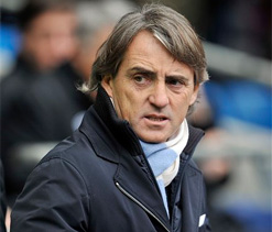 Mancini hoping Man U succumbs due to fatigue in PL title race