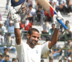 Despite Dhawan`s whirlwind 185 low turn out of fans at PCA