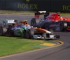 Australian GP: Force India off to best ever start