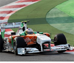 Sutil, Di Resta finish among top-10 in Australian GP