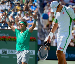 BNP Paribas Open: Djokovic stunned by del Potro; Nadal through to final