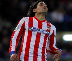 Man City set to go all out for Falcao with 52m GBP bid