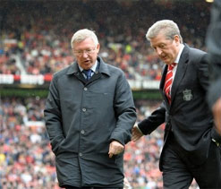 Hodgson strives to be on good terms with Ferguson