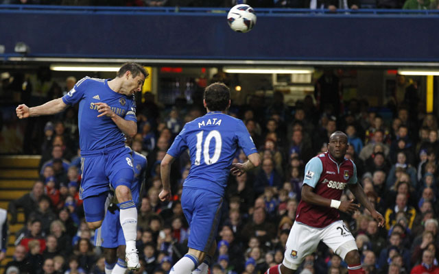 Frank Lampard records 200th goal as Chelsea beat West Ham